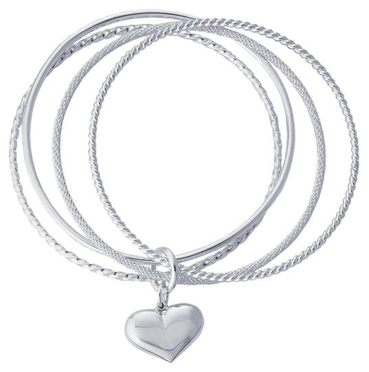 Preload https://item3.tradesy.com/images/silver-sterling-four-ring-twist-n-texture-bangle-with-heart-charm-by-briangdesigns-bracelet-1104212-0-0.jpg?width=440&height=440
