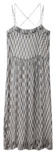 Maxi Dress by Isabel Marant Silk Black White Maxi