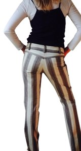 Nanette Lepore Trouser Pants Multi Stripe