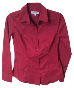 MERONA Button Down Shirt RED