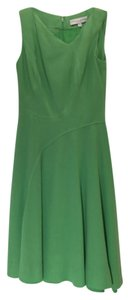 Carolina Herrera Wool Silk Sleeveless Dress
