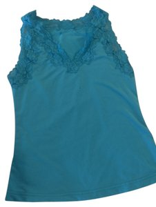 Frederick's of Hollywood Top Turquoise