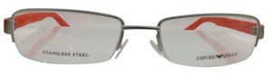 Emporio Armani Emporio Armani EA9785 Color YZE Palladium Eyeglasses Frame 51mm 17mm 140mm New Made In italy