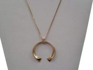 Dean Davidson NEW DEAN DAVIDSON LARGE TEMPTRESS PENDANT NECKLACE IN GOLD TONE -