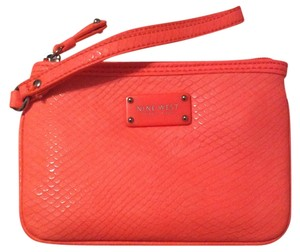 Nine West Wristlet in Bright Salmon
