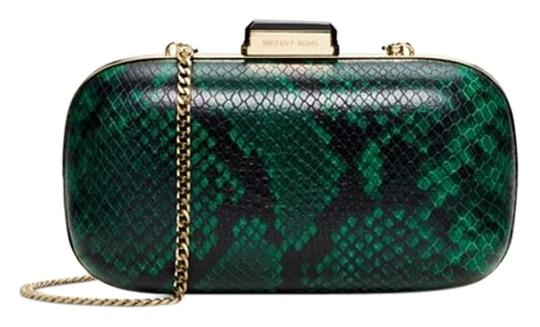 Preload https://item2.tradesy.com/images/michael-kors-w-bonus-python-embossed-dome-clutch-shoulder-bag-1104426-0-2.jpg?width=440&height=440