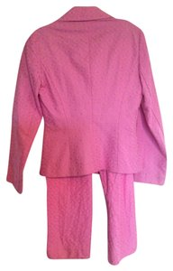 Trina Turk Cropped pink pant suit!