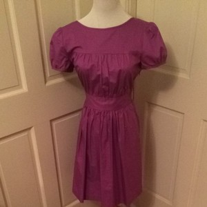 Theory short dress Purple on Tradesy