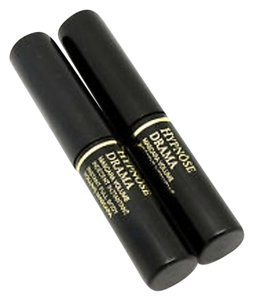 SET OF 2 Lancome HYPNOSE DRAMA MASCARA Excessive Black Travel Size .135 oz each
