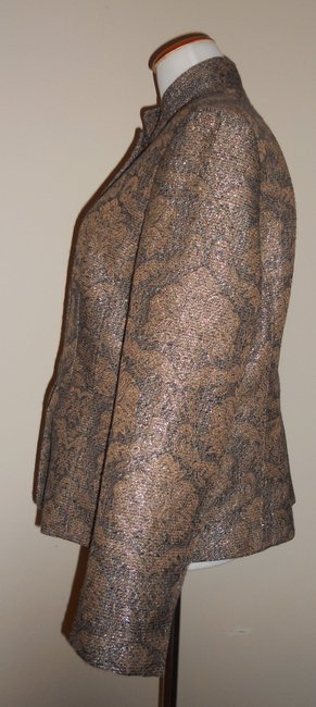 Liz Claiborne Metallic / Gold / Brown Jacket Image 2