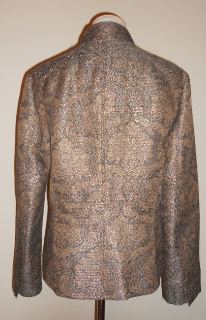 Liz Claiborne Metallic / Gold / Brown Jacket Image 3
