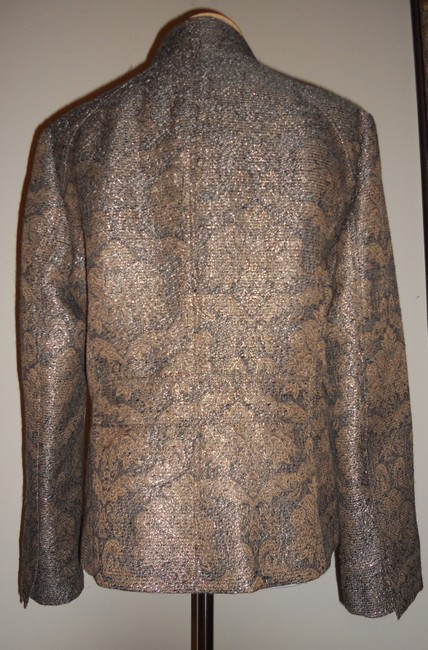 Liz Claiborne Metallic / Gold / Brown Jacket Image 4