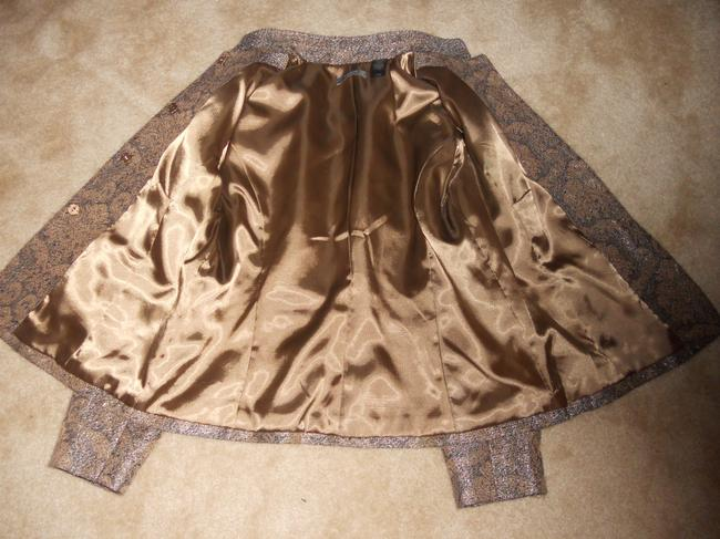 Liz Claiborne Metallic / Gold / Brown Jacket Image 6