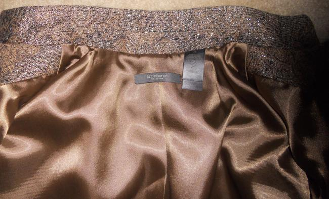 Liz Claiborne Metallic / Gold / Brown Jacket Image 7