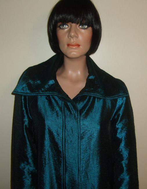 Chico's Tantalizing Teal Jacket