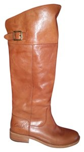 Coach light cognac Boots