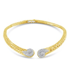 David Webb David Webb Diamond Gold Platinum Collar Necklace