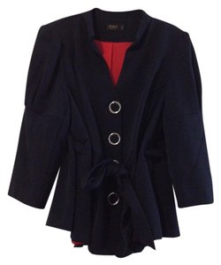 Igigi Plus-size Suit Jacket Navy Blazer
