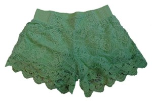Miss Me Mini/Short Shorts Lime Green
