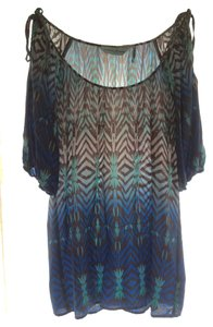 Guess By Marciano Silk 60s Funky Tunic