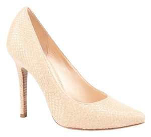 Cole Haan Sandstone snake leather embossed Pumps