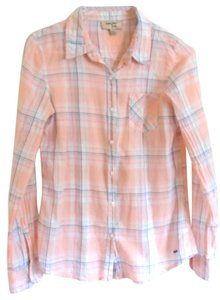 Triple Five Soul Plaid Button Down Long Sleeve Button Down Shirt