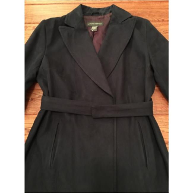 Banana Republic Belted Trench Coat Image 1