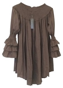 Gracia short dress Brown on Tradesy