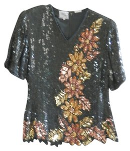 Other Top Black w/Sequins
