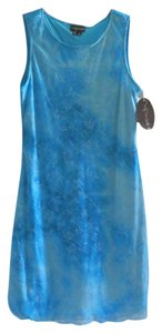 My Michelle short dress Turquoise w/Sparkle Design on Tradesy