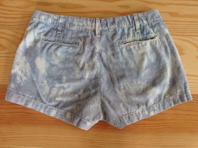 Rag & Bone Shorts Blue tie dyed