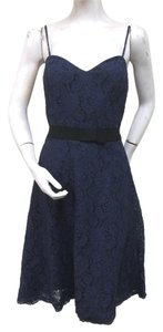 Watters short dress Blue And Navy on Tradesy