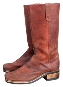 Dingo Leather Vintage Work Vintage Brown Boots