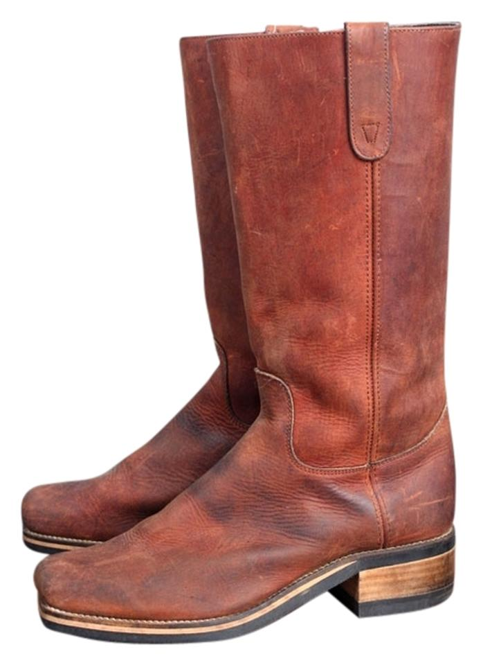 Women's Selected Dingo Brown Leather Vintage Boots/Booties Selected Women's materials 36c8f3