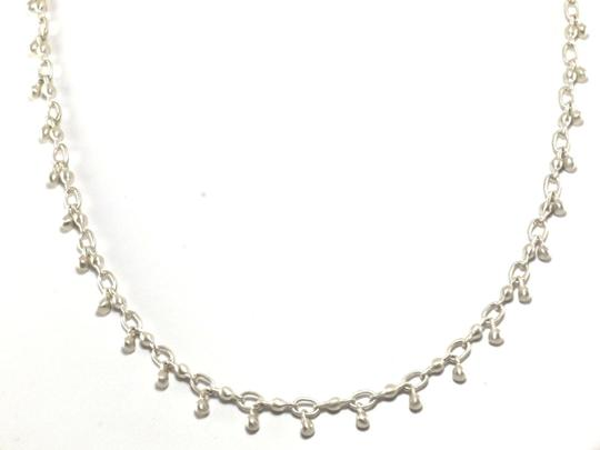 "Me & Ro ME AND & RO Sterling Silver .925 Orb Station 18"" Chain Link Necklace"