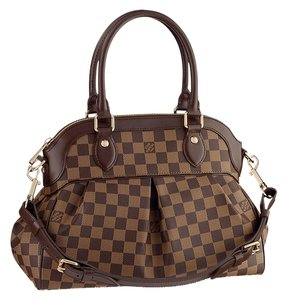 Louis Vuitton Damier Canvas Trevi Pm Trevi Lv Tote in Brown