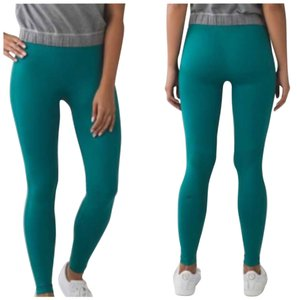 Lululemon New With Tags Lululemon Zone In Tights Size 6 Forage Teal