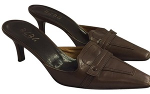 BCBG Paris Olive brown/green tone Mules
