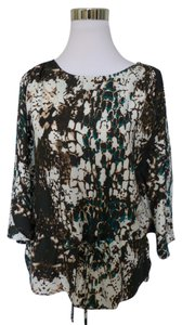 ECI New York Dolman Batwing Top Brown