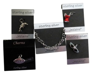 NWT Sterling Bracelet with 4 Charms