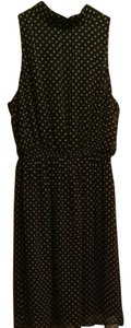 Phanuel short dress Polka Dot Black And Nude on Tradesy