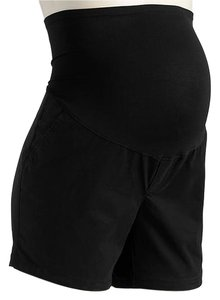 Old Navy NEW Old Navy Maternity Full-Panel Twill Shorts Black size 10