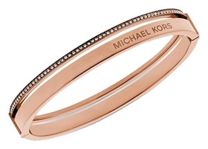 Michael Kors Michael Kors Rose Gold Tone Hinge Bangle (BRAND NEW MISSING TAG)