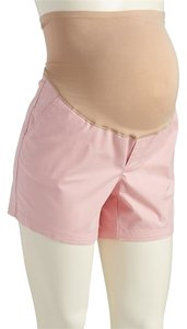 Old Navy NEW Old Navy Maternity Full-Panel Twill Shorts Pink size 14