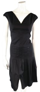 Chanel Spring 2004 Collection Pleated Sleeveless Bustier Dress
