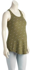Old Navy NEW women's Old Navy Maternity Printed Jersey tank top green size XS NEW