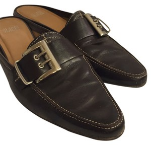 Glacée Chestnut brown Mules