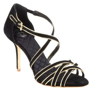 Tory Burch Black with gold trim Formal