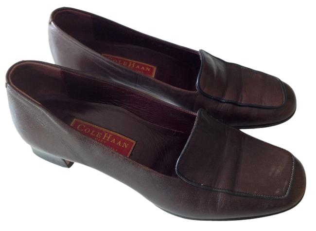Item - Dark Brown Leather W/Black Trim D11217 847 Pumps Size US 7.5 Regular (M, B)