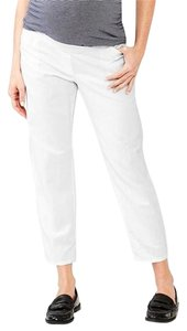 Gap Maternity NWT GAP Maternity Linen-Cotton Joggers Crop Pants size XS NEW